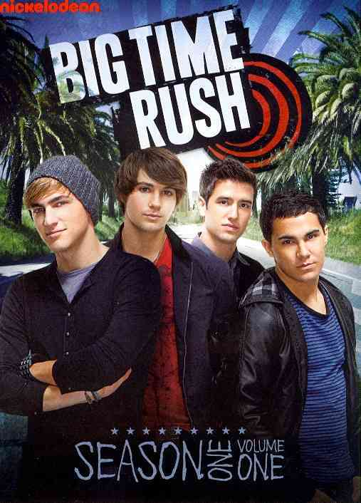 BIG TIME RUSH:SEASON ONE VOL 1 BY MASLOW,JAMES (DVD)